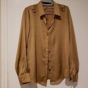 Long sleeve business blouse